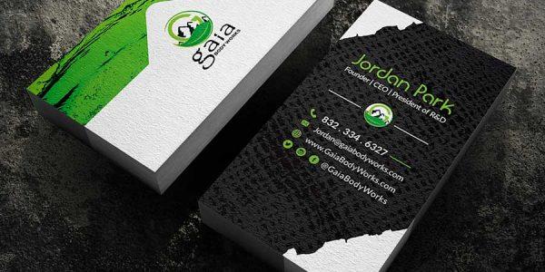 business cards Faceless Technologies best print