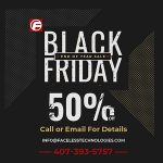 Black Friday and Cyber Monday 2019 End of the Year Sale – 50% Off Websites