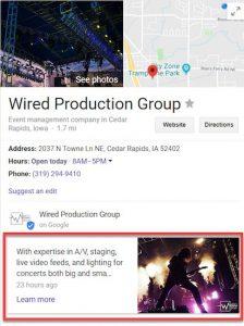 SEO Google Business Profile