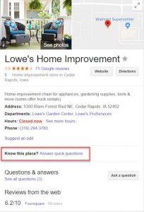 SEO Google My Business